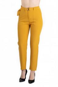 Pantaloni Dama Eleganti Galben Olivia
