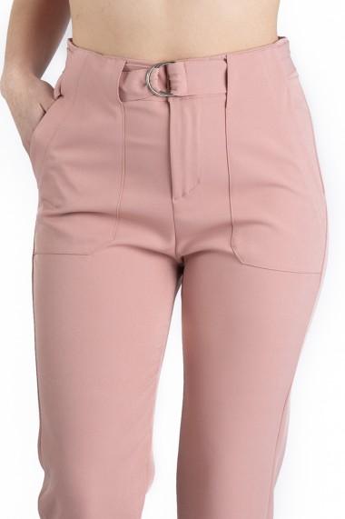 Pantaloni Dama Eleganti Roz Olivia