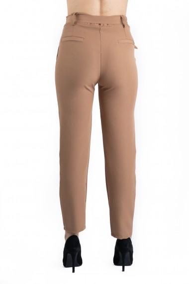 Pantaloni Dama Eleganti Crem Olivia