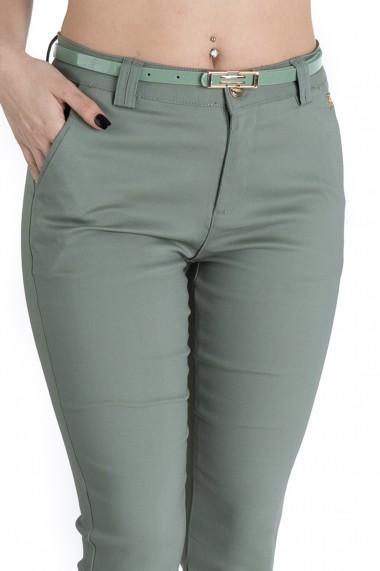 Pantaloni Alyssa Vernil Eleganti