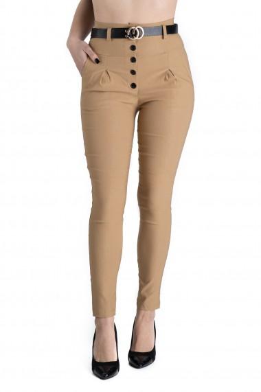 Pantaloni Ruby Maro Eleganti