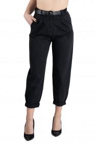 Pantaloni Dama Bufanti Negri Celeste
