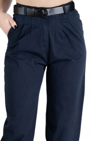 Pantaloni Dama Bufanti Bleumarin Celeste