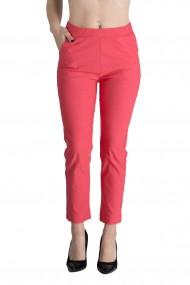 Pantaloni Rachel Marime Mare Dama Roz Corai