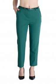 Pantaloni Office Verde Marime Mare Lady`s