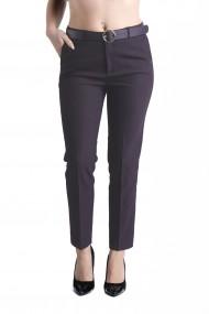 Pantaloni Ava Eleganti Marime Mare Bleumarin Premium