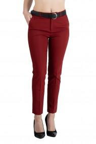 Pantaloni Ava Eleganti Rosu Premium