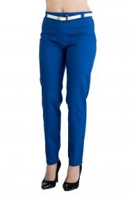 Pantaloni Maya Eleganti Marime Mare Albastru Premium