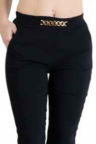 Pantaloni Emery Marime Mare Dama Negru