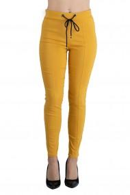 Pantaloni Genesis Marime Mare Dama Galben Mustar