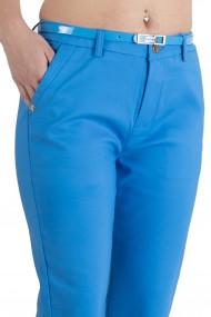 Pantaloni Alyssa Albastru Eleganti Marime Mare