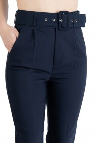 Pantaloni Dama Eleganti Bleumarin Carol Premium