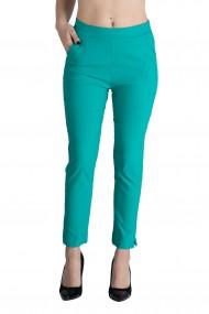 Pantaloni Rachel Marime Mare Dama Verde Turcoaz