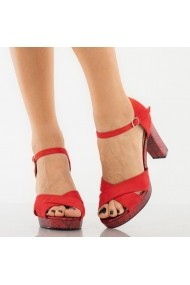 Sandale dama Betsy rosii