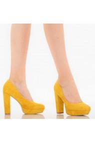 Pantofi dama Maja galbeni