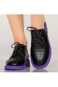 Pantofi casual Kuito negri