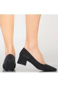 Pantofi dama Wine dots