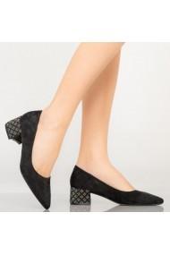 Pantofi dama Wine negri