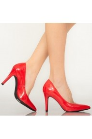 Pantofi dama Loga rosii