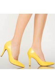 Pantofi dama Loga galbeni