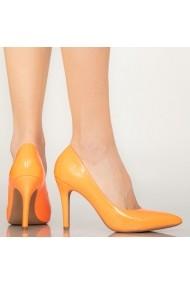 Pantofi dama Loga portocalii