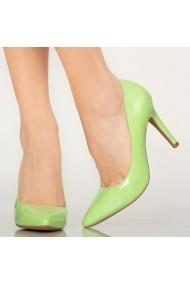 Pantofi dama Loga verzi