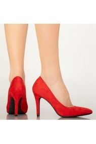 Pantofi dama Ask rosii