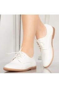 Pantofi casual Burn albi