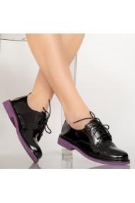 Pantofi casual Erty negri