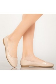Pantofi casual Jina bej
