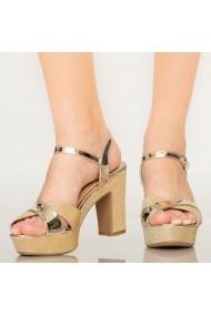 Sandale dama Mert aurii