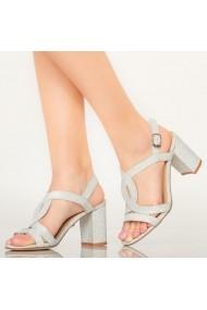 Sandale dama Tany argintii