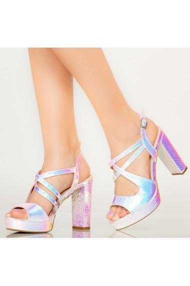 Sandale dama Digo silver