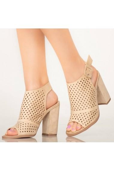 Sandale dama Tere bej