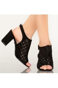 Sandale dama Hefe negre