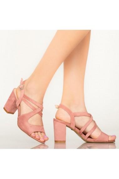 Sandale dama Fitz roz