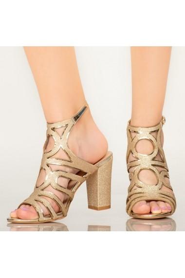 Sandale dama Mura aurii