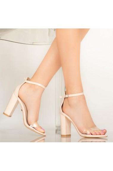 Sandale dama Bota bej