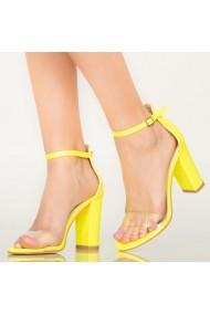 Sandale dama Bota galbene
