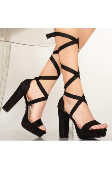 Sandale dama Lake negre