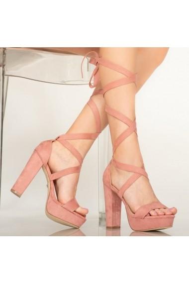 Sandale dama Lake roz