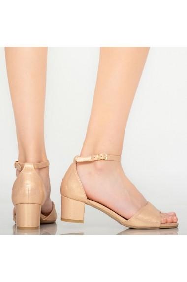 Sandale dama Marie aurii