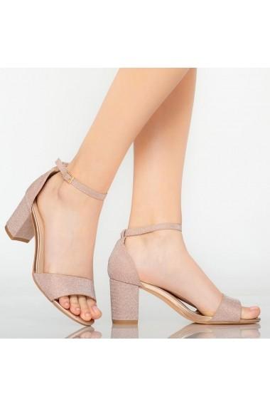 Sandale dama Temple roze