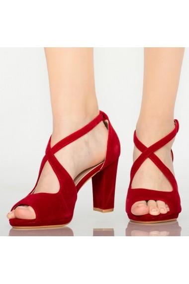 Sandale dama Mave rosii