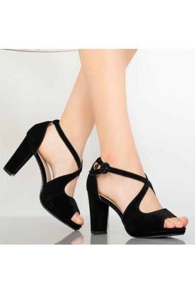Sandale dama Mave negre