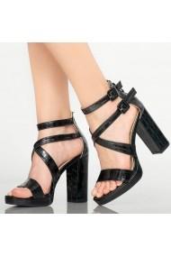 Sandale dama Oriel negre