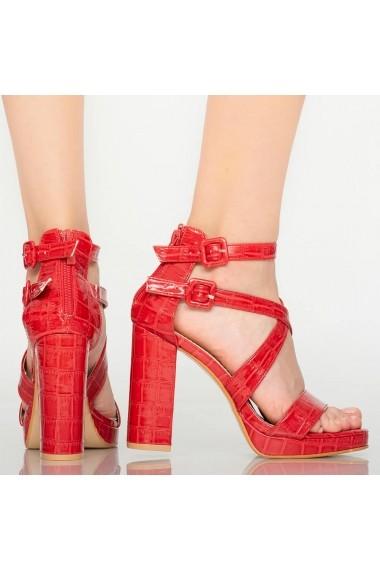 Sandale dama Oriel rosii