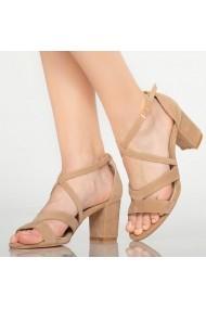 Sandale dama Sybil bej