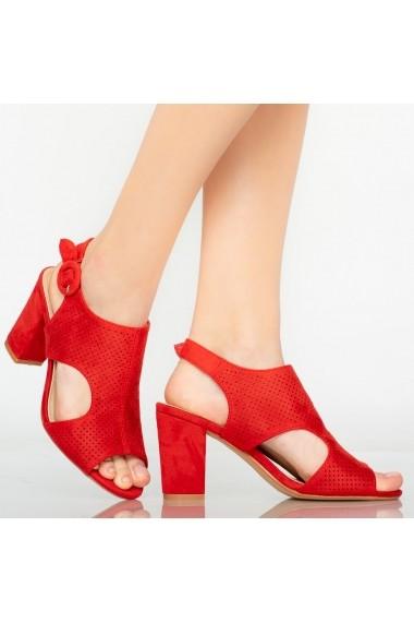 Sandale dama Tide rosii