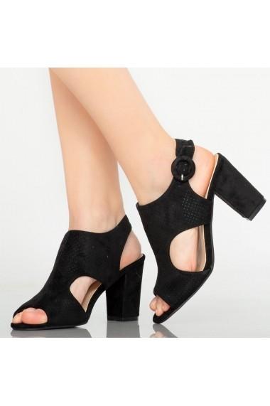 Sandale dama Tide negre